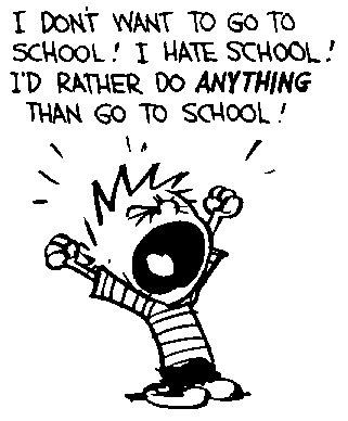 School cry